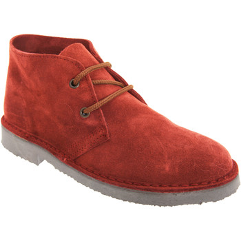 Chaussures Homme Boots Roamers Desert Rouge