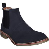 Chaussures Homme Boots Roamers Gusset Bleu marine