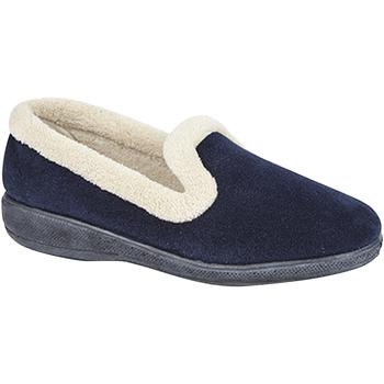 Chaussures Femme Chaussons Sleepers  Bleu marine