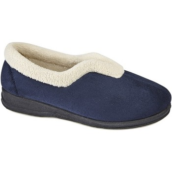 Chaussures Femme Chaussons Sleepers Olivia Bleu marine