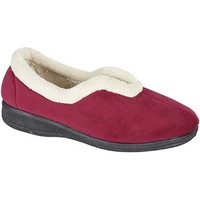 Chaussures Femme Chaussons Sleepers Olivia Rouge