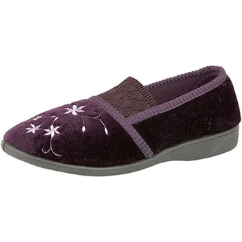 Chaussures Femme Chaussons Zedzzz Embroidered Pourpre