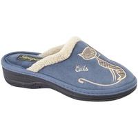 Chaussures Femme Chaussons Boulevard Mule Bleu marine
