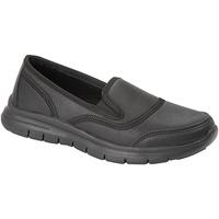 Chaussures Femme Slip ons Dek  Noir