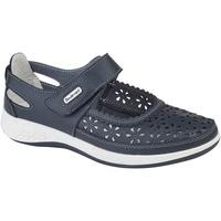 Chaussures Femme Derbies Boulevard Wide Fit Bleu marine