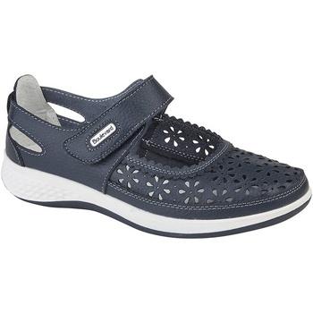 Chaussures Femme Mocassins Boulevard Wide Fit Bleu marine