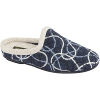 Chaussures Femme Chaussons Sleepers Knitted Bleu