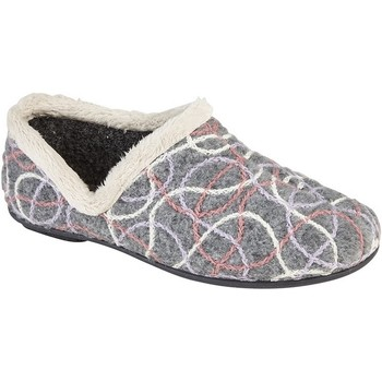Chaussures Femme Chaussons Sleepers Knitted Gris
