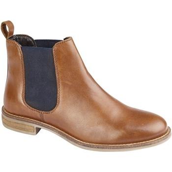 Chaussures Femme Boots Cipriata Gusset Fauve