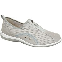 Chaussures Femme Slip ons Boulevard Gusset Gris