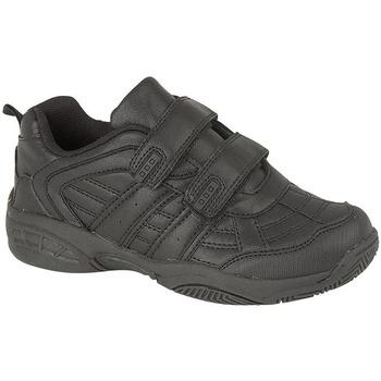 Chaussures Enfant Baskets basses Dek Fusion II Noir