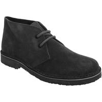Chaussures Femme Boots Roamers Round Toe Noir