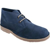 Chaussures Homme Boots Roamers Desert Bleu marine