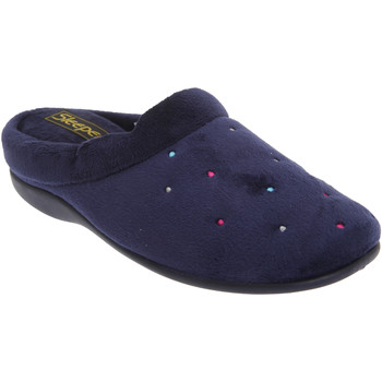Chaussures Femme Chaussons Sleepers Charley Bleu marine