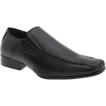 Chaussures Garçon Mocassins Us Brass Gusset Noir
