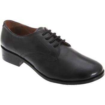 Chaussures Femme Derbies Grafters Cadet Noir