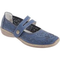Chaussures Femme Derbies & Richelieu Boulevard Casual Bleu