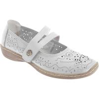 Chaussures Femme Ballerines / babies Boulevard  Blanc