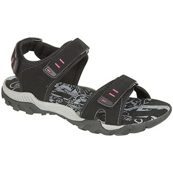 Chaussures Femme Sandales sport Pdq Toggle & Touch Noir