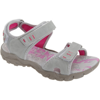 Chaussures Femme Sandales sport Pdq Toggle & Touch Gris