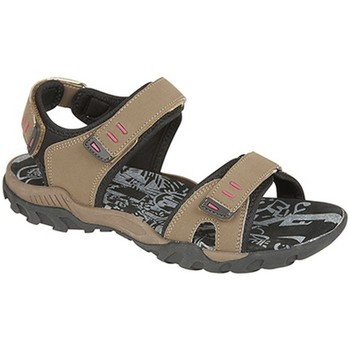 Chaussures Femme Sandales sport Pdq Toggle & Touch Taupe