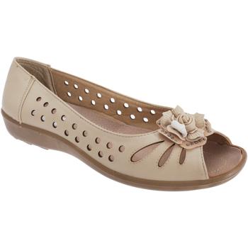 Chaussures Femme Sandales et Nu-pieds Boulevard  Beige