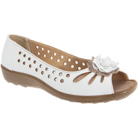 Chaussures Femme Ballerines / babies Boulevard Casual Blanc