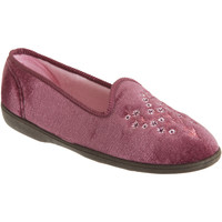 Chaussures Femme Chaussons Sleepers Embroidered Rose