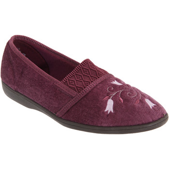 Chaussures Femme Chaussons Sleepers Inez Bordeaux