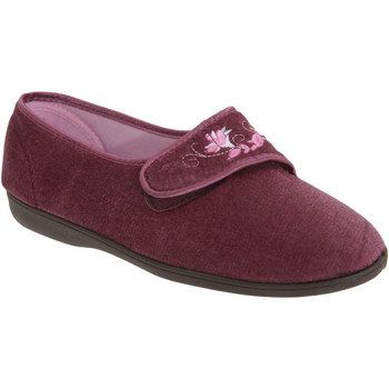 Chaussures Femme Chaussons Sleepers Embroidered Prune