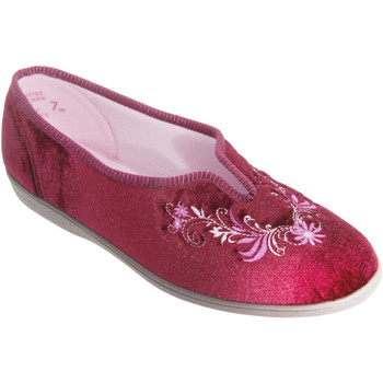 Chaussures Femme Chaussons Sleepers Embroidered Vin