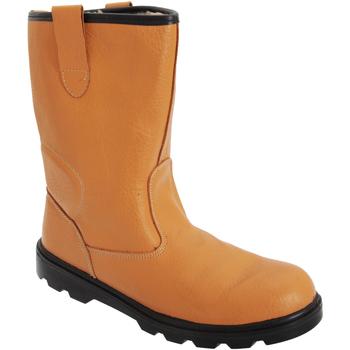 Chaussures Homme Chaussures de sécurité Grafters  Fauve