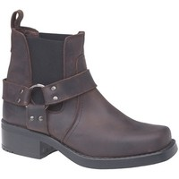 Chaussures Homme Bottes Woodland Gusset Marron