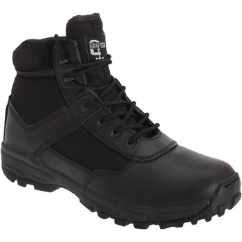 Chaussures Homme Boots Grafters Combat Noir