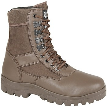 Chaussures Homme Boots Grafters Combat Marron