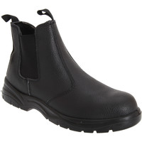 Chaussures Homme Boots Grafters Safety Noir