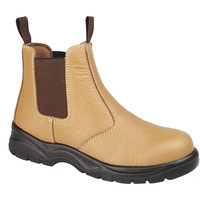 Chaussures Homme Boots Grafters Safety Fauve