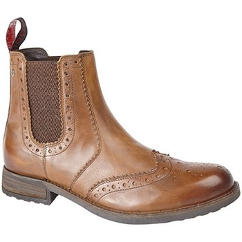 Chaussures Homme Bottes Roamers Gusset Fauve