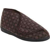Chaussures Homme Chaussons Comfylux Check Marron