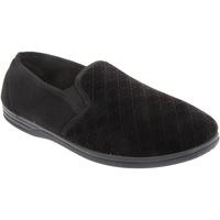 Chaussures Homme Chaussons Zedzzz Gusset Noir