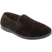Chaussures Homme Chaussons Zedzzz Gusset Marron