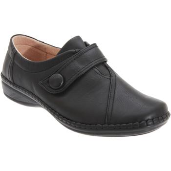 Chaussures Femme Mocassins Boulevard  Noir