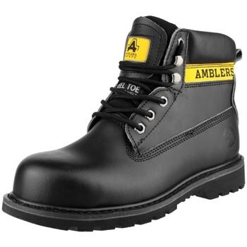 Chaussures Femme Chaussures de sécurité Amblers FS9 Noir