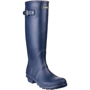 Chaussures Femme Bottes de pluie Cotswold Sandringham Bleu marine