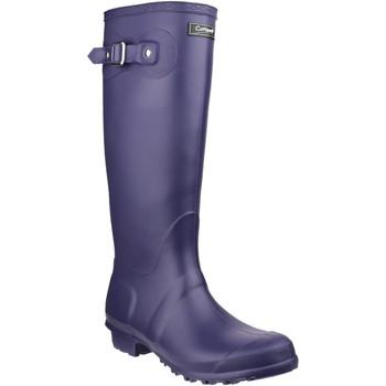 Chaussures Femme Bottes de pluie Cotswold Sandringham Violet