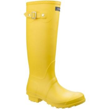 Chaussures Femme Bottes de pluie Cotswold Sandringham Jaune