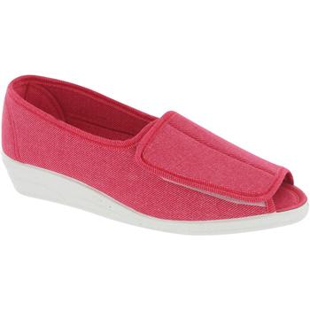 Chaussures Femme Sandales et Nu-pieds Mirak Quimper Rouge