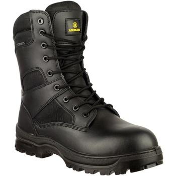 Chaussures Homme Boots Amblers COMBAT WP Noir