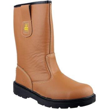 Chaussures Homme Chaussures de sécurité Amblers 124 S3 Fauve