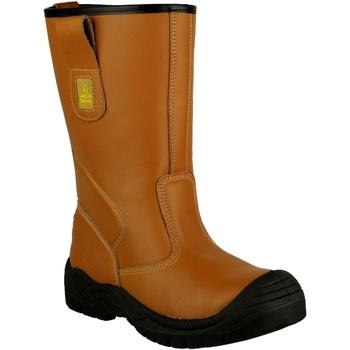 Chaussures Homme Chaussures de sécurité Amblers 142 S3 Fauve